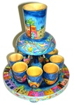 Shabbat Pouring Cup Kiddush Set