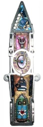 Clock Tower Mezuzah