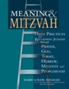 Meaning & Mitzvah: Daily Practices for Reclaiming Judaism through God, Torah, Mitzvot, Hebrew, Prayer, and Peoplehood