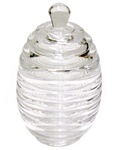Lucite Honey Pot