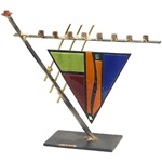 Triangular Menorah