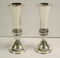 Sterling Silver Candle Sticks