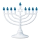 White LED Electronic Menorah