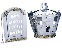Jerusalem Panorama Breastplate & Crown
