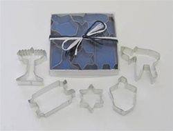 Jewish Holiday Cookie Cutters