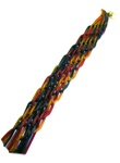 Multi-color 12 Wick Woven Havdallah Candle