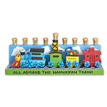 Railroad Menorah