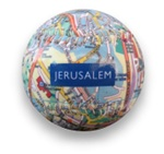 Jerusalem Map Baseball