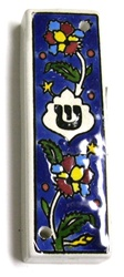 Armenian Ceramic Mezuzah Case
