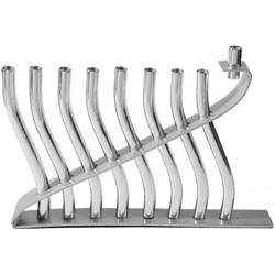 Silver Menorah by Emanuel