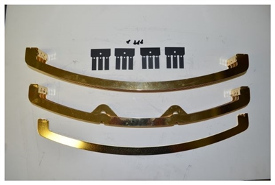 Quadrafire Louvre Grille Assembly Gold GRL-SFI-GD