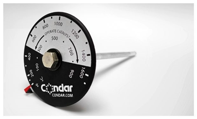 Condar Catalytic Combustor Probe Thermometer 3-12-1