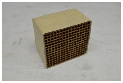"Condar Catalytic Combustor CC-352 2.9"" x  3.5"" X 2"""