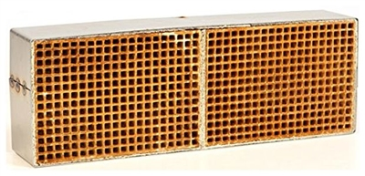 "Condar Catalytic Combustor CC511 3.6"" x 10.6"" x 2"" Uncanned Catalytic Combustor."