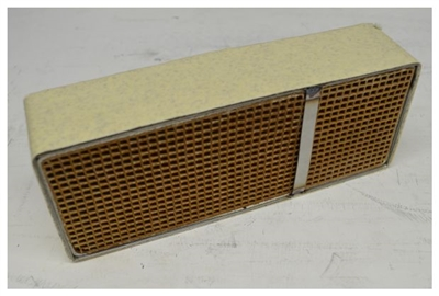 "Condar Catalytic Combustor CC550 3.7"" x 9.1"" x 2"" Catalytic Combustor."