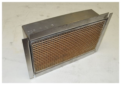"Condar Catalytic Combustor CC-551 4.0"" x  7.0"" X 2"""