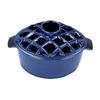 Minuteman Lattice Top Steamer Blue Enamel T-50-BL