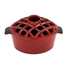 Minuteman Lattice Top Steamer Red Enamel T-50-R
