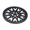 Minuteman 7″ Sunburst Cast Iron  Trivet C-33BB
