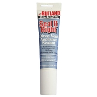Rutland Seal It Right 2.7 oz. Direct-Vent Appliance Sealant - Black Latex #641C