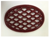 John Wright Apple Red Enamel Lattice Trivet 033349