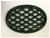John Wright Majolica Green Lattice Trivet 033353