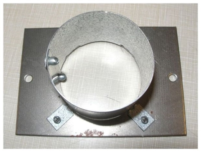 Quadrafire Pellet Stove Outside Air Collar Assembly 7001-045