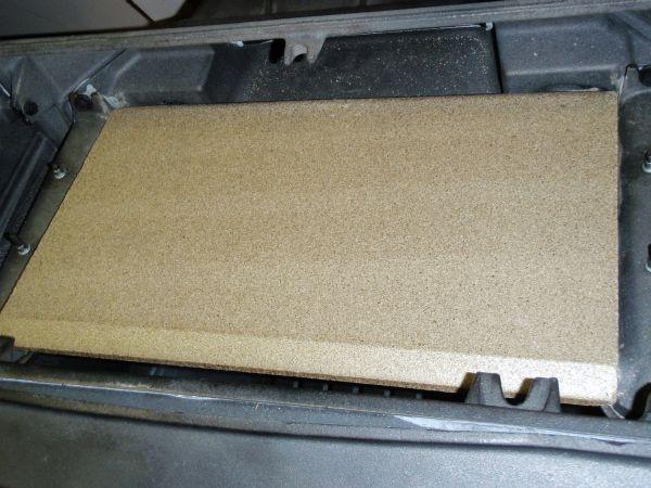 Jotul F500 Oslo Top Baffle Vermiculite 220460