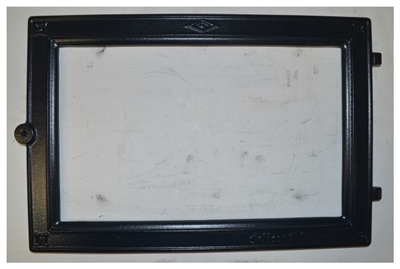 Hearthstone Front Door Frame Blue Black Enamel 2010-265