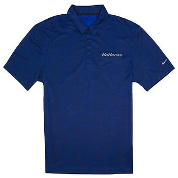 Nike Crosshatch Polo - Old Royal