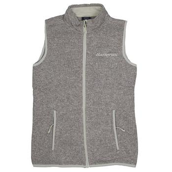 Ladies Pacific Heathered Vest - Oatmeal