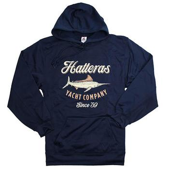 Yachts Company Performance Hoodie - Navy