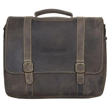 Leather Messenger Brief