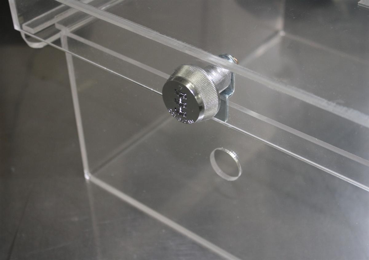 Clear Acrylic Refrigerator Lock Box