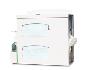 Compact Locking Respiratory Hygiene Station