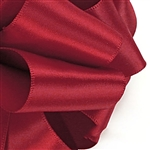 Offray Single Face Satin Ribbon - 260 Scarlet Red