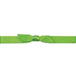 "7/16"" Stretch Satin Loops Kiwi"