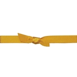 "7/16"" Stretch Satin Loops Gold"