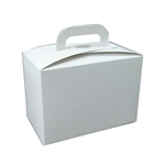 1 lb. Vertical White Window Tote