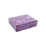 1/4 lb. Lilacs Patterned Chocolate Boxes