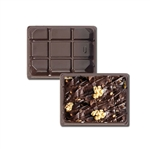 1/4 lb. plastic tray- 1 cavity-for fudge
