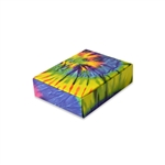 1/4 lb. Tie Dye Chocolate Boxes