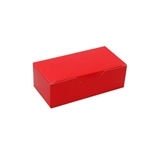 1/2 lb. Red 1 Piece Boxes