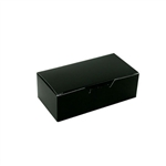1/2 lb. Black Rectangle-Fudge Boxes