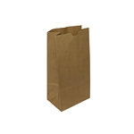 10 lb Kraft Regular Weight Paper Grocery Bags