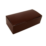 1 lb. Brown Fudge Boxes