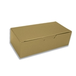 1 lb. Gold Lustre Rectangle-Fudge Boxes