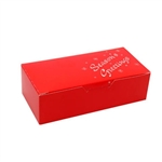 1 lb. Red Season's Greetings Chocolate Boxes