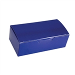 1 lb. Royal Blue Rectangle-Fudge Boxes