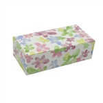 1 lb. Watercolor Daisy Rectangle-Fudge Boxes